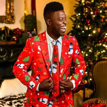 Kerststemming OppoSuits kerstpak