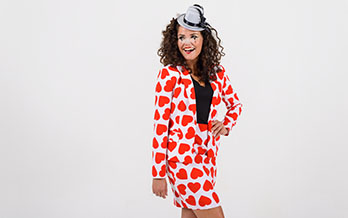 hartenkoningin outfit carnaval