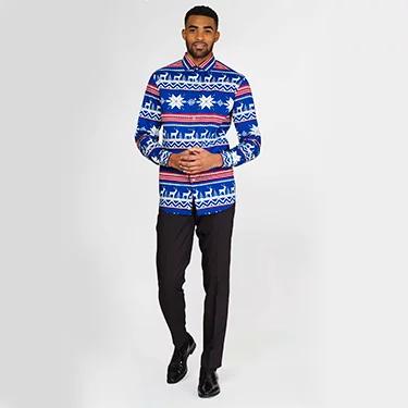 Overhemd Kerst.Onze Gloednieuwe Kerstcollectie Kerstpakken Blazers En Veel Meer