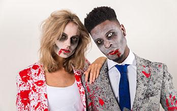Zombie carnaval pak