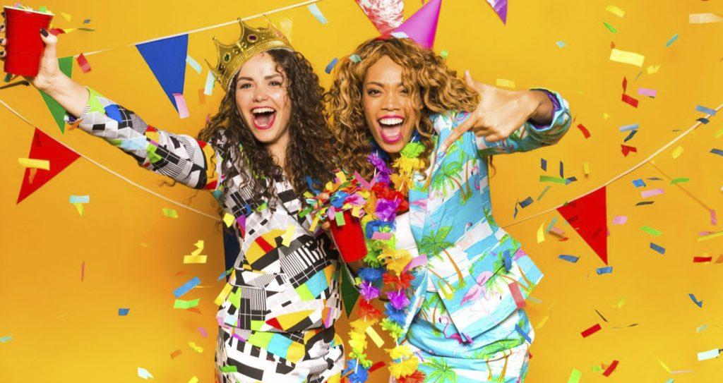 Slingers confetti en carnavalspakken